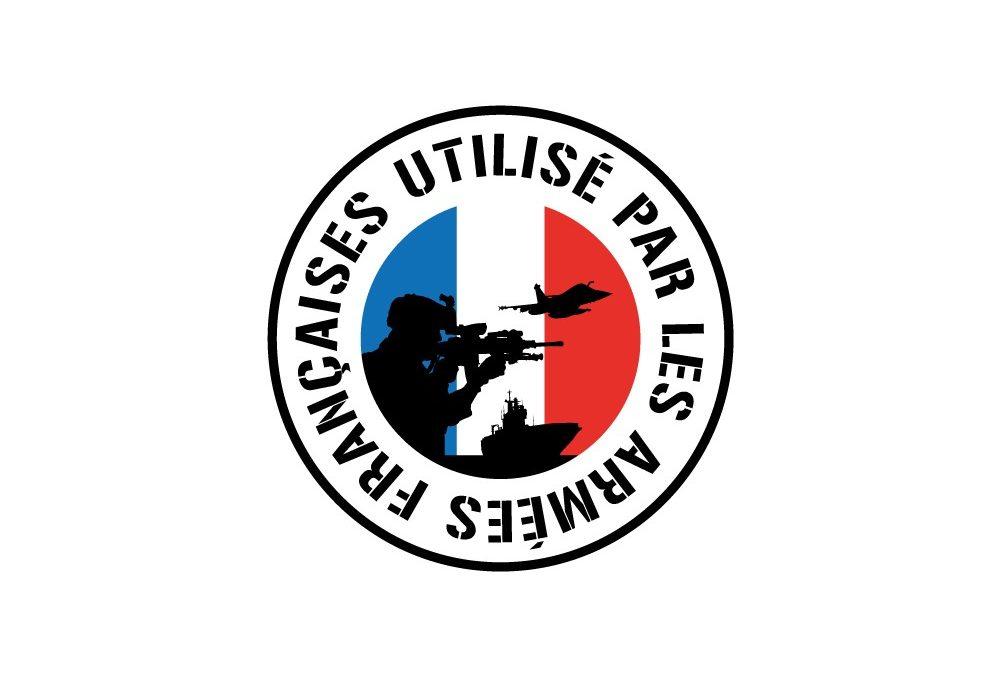 Label «utilisé par les armées françaises»