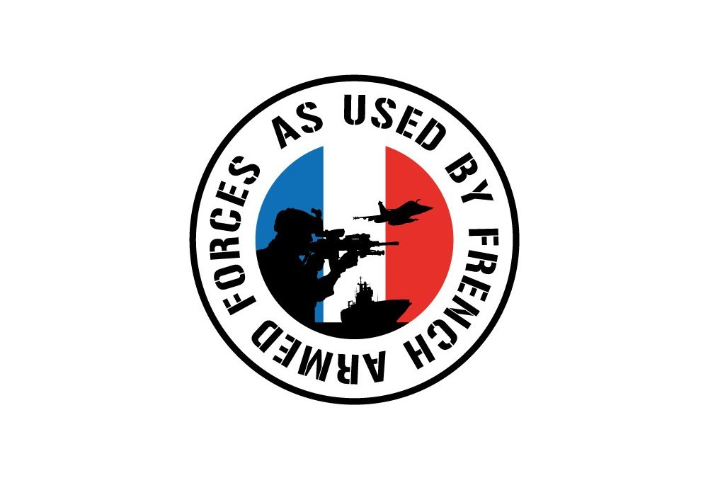 "Label ""used by French armed forces"""